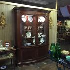 Historic Charleston collection Baker furniture bow front cabinet