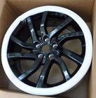 Land Rover OEM Discovery Sport Evoque LR2 Aeroviper Black 18 x 8 Wheel Set NEW
