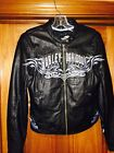 Harley Davidson Leather Jacket Wmn Sz S Selene Removable Quilted Lining Pristine