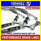 YAMAHA TDM850 1996-01, VENHILL stainless steel braided brake lines CL