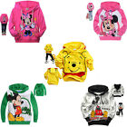 Baby Boys Girls Kids Hoodies Clothes Sweatshirt Toddler Mickey Shirts Top Outfit