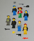 Lego Junior MINIFIGURES Lot 7 People Girl City Police Pirate Jack Stone Minifigs