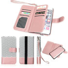 Leather Removable Wallet Magnetic Flip Card Case Cover for iPhone 7