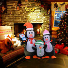 5Ft Airblown Inflatable Christmas Penguin Family Decor Lighted Lawn Yard Outdoor