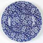 Queens CALICO BLUE (MALAYSIA) Bread & Butter Plate 6141266