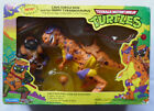 1993 TMNT Turtles figure Cave Turtle Don and Trippy Tyrannosaurus MISB