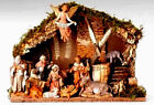 5 Inch Fontanini 11 pc Italian Nativity Scene plus stable 54490