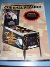 Cue Ball Wizard by Gottlieb Pinball Flyer!