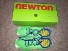 Newton Tri Racer Lime Yellow Running Shoes Mens M Size 11 New 125