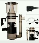 Aquarium Protein Skimmer 150 Gal w/ 530GPH Pump Filter Salt Water Powerhead Tank