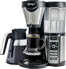 Ninja - Coffee Bar Brewer with Glass Carafe - Stainless Steel/Black