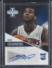 ANDRE DRUMMOND 2012-13 PANINI INNOVATION ROOKIE AUTO RC #1