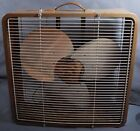 Vintage Toastmaster 5325 Box Fan With 3 Metal Blades - Two Speed