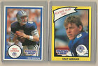 (2) 1990 STARTING LINEUP CARDS OF TROY AIKMAN DALLAS COWBOYS