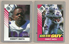 (2) 1993 STARTING LINEUP GO-TO GUY CARDS OF EMMITT SMITH DALLAS COWBOYS