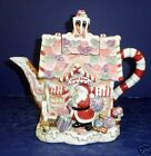 Fitz and Floyd Candy Lane Teapot- New in Box-2058/235