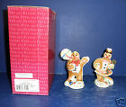 Fitz and Floyd Candy Lane Gingerbread Shakers- New in Box-2058/230