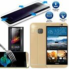 Tempered Glass Screen Protector Film For HTC Desire 610 510 601 One M7 M8 M9 CB