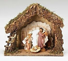 75 Inch Scale Fontanini Italian Nativity Stable with Holy Family 54850