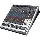 Behringer Xenyx X2442 24-Channel Live Mixer Mixing Desk With USB Audio Interface