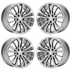 18 BUICK LACROSSE PVD CHROME WHEELS RIMS FACTORY OEM 2017 SET 4 EXCHANGE