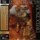Collegium Musicum-Dirvergencies Czech prog psych Japanese mini lp SHM 2 cds