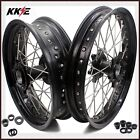 KKE 2.5*19/4.25*17 SUPERMOTO CUSH WHEELS SET FOR KTM950 KTM990 03-15 DUAL DISC