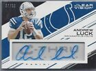 ANDREW LUCK 2015 PANINI CLEAR VISION COLTS ON CARD AUTO #D 37 50