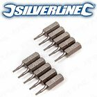 10x 4mm ALLEN HEAD SCREWDRIVER BITS CR-V Steel Corrosion Resistant Hex Magnetic