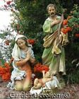 THE BEST NATIVITY SET YET 3 pc Beautiful 27 Indoor Outdoor Resin YARD STATUES