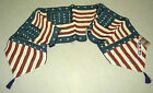 American Flag Colonial Tapestry Table Runner ~ Artist, Warren Kimble