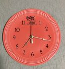 PERSIMMON FIESTA 60th ANNIVERSARY CLOCK--EXCELLENT-WITH TAGS!!!