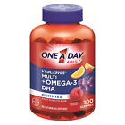 One A Day Adult Vita Craves Multi Omega 3 DHA 100 Gummies Exp 2 17