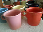 HOMER LAUGHLIN Lot of 7 RARE TOM & JERRY COFFEE MUGS O Ring ADDED RED