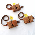 YUGO MAUSER LEATHER SLING & AMMO POUCH for M48 8mm - SUPER NICE LOOKING. NOS