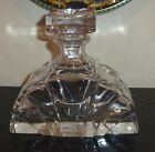 Heavy Factice Display Perfume Bottle with Glass Stopper 7 Tall
