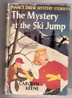 Nancy Drew THE MYSTERY AT THE SKI JUMP silhouette eps W DJ 1ST EDITION 1952