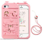 US SELLER3D Cute Hello Kitty iPhone 6 6s 7 8 Plus Silicone Case