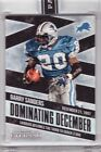 2016 Panini Eternal Dominating December Black Barry Sanders - Only 1 made! 1 1