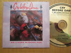 RARE - Cry Before Dawn – No Living Without You - UK CD Single  1989
