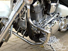 Yamaha XV1600 Road Star highway crash bar engine guard Stainless w Pegs