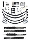 Rubicon Express 4 Standard Spring System w Twin Tube Shocks for 87 95 Jeep YJ