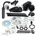 50cc 2 Stroke Single Cylinder Gas Motorized Bike Engine Kit Bicycle Motor Black