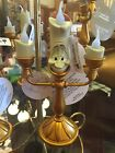 Disney Parks LUMIERE Beauty  the Beast LIGHT UP Candlestick Ornament 5 inches
