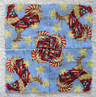 20 7 square PATRIOTIC ROOSTER CHICKEN Kaleidoscope Quilt Blocks  SEWN