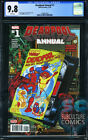DEADPOOL ANNUAL #1 - FIRST PRINT - CGC 9.8 - ICEMAN AND FIRESTAR - SOLD OUT