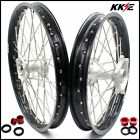 KKE Casting 21/19 MX Wheels Rims Set For HONDA CRF250R 2004-2013 CRF450R 02-12