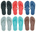 Womens Flip Flops Solid Colors Various Sizes Factory sealed