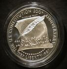 1987 Silver US Commemorative Constitution 1787 1987 Coin in mint capsule