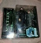 Matrix movie NEO action figure McFarlane series 1 Keanu Reeves Morpheus Trinity
